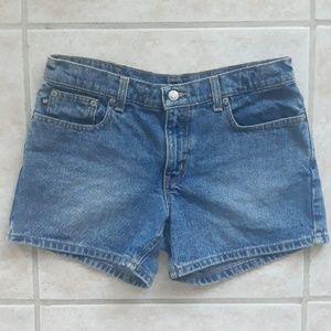 Polo Ralph Lauren blue jean shorts, size 6
